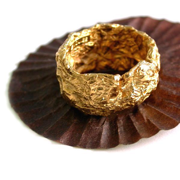 Chokolade ring, first edition - 18 karat guld
