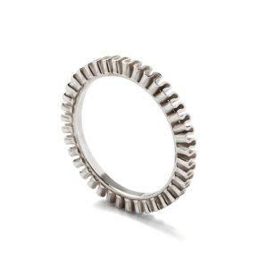 Ring - 18 karat hvidguld