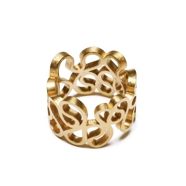 Flamenco ring - 18 karat guld