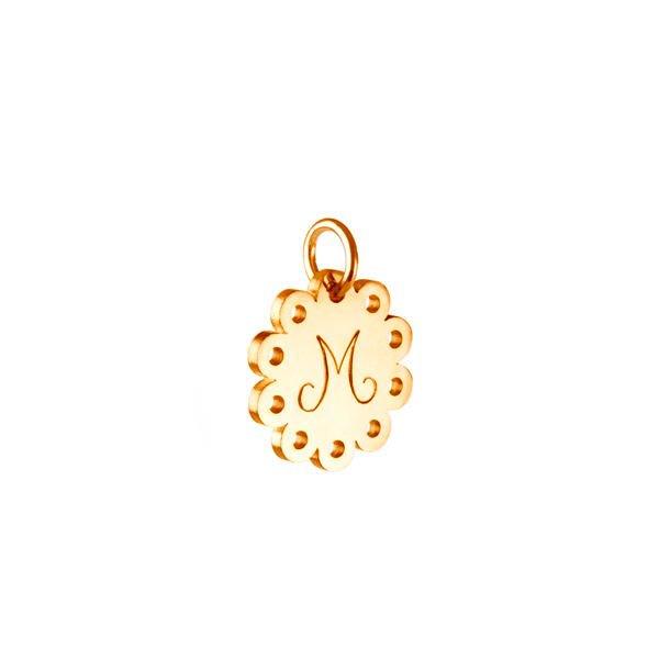 516c4baedd0 Blonde – vedhæng med bogstav, 14 karat guld | Emquies ...