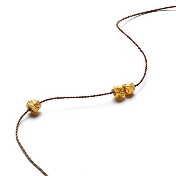 Chokolade kæde - 18 karat guld