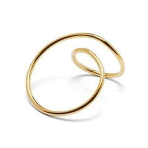 Kærlighedsring - 18 karat guld