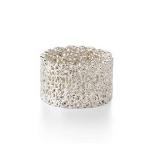 Squeeze ring, 12 mm, sterlingsølv